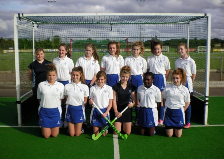 The Girls U14 Hockey Team